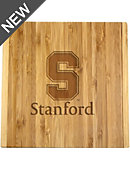 Stanford University 4-Piece Bamboo Cheese Knife Set