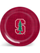 Stanford University Cardinal 10 in. 4 Pack of Plates
