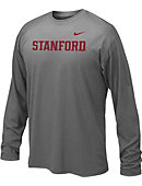 Nike Stanford University Dri-Fit Youth Long Sleeve T-Shirt