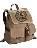 Stanford University Waxed Continental Rucksack