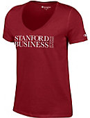 Stanford University School of Business Women's V-Neck T-Shirt