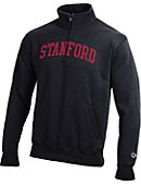 1607C Stanford University Quarter-Zip Fleece Pullover