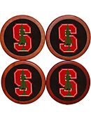 Stanford University Coasters Set of 4