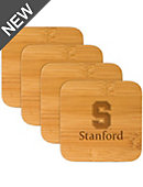 Stanford University Bamboo Coasters