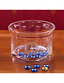 Stanford University Crystal Footed Candy Bowl