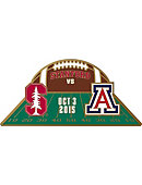 Stanford University Gameday Football Pin