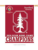 Stanford University Football 2016 Rose Bowl Game Champions Banner