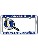 Spalding University Alumni Thin Dome License Plate Frame