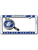 Spalding University Golden Eagles Thin Dome License Plate Frame