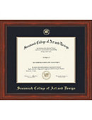 Savannah College Of Art And Design Millenium (6/09 To Pres) Diploma Frame -ONLINE ONLY