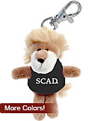 Savannah College of Art and Design Plush Keychain