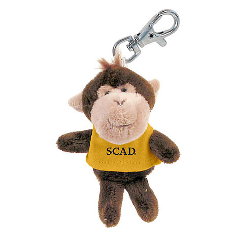 Product: Savannah College of Art and Design Plush Keychain