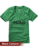 Savannah College of Art and Design Women's V-Neck T-Shirt