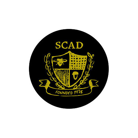 Product: Savannah College of Art and Design 3x3 Bumper Sticker
