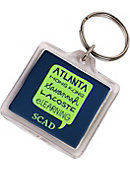 Savannah College of Art and Design Location Keychain
