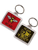 Savannah College of Art and Design Keychain
