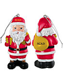 Savannah College of Art and Design 3.25' Santa Ornament