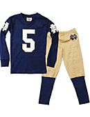 University of Notre Dame Boy's Football Pajama Set