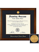 University of Notre Dame 8.5'' x 11'' Bamboo Diploma Frame