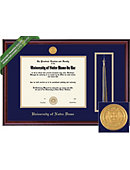 University of Notre Dame 8.5'' x 11'' Classic Diploma Frame