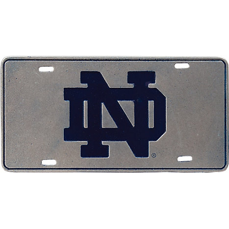 Product: University of Notre Dame License Plate