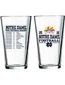 University of Notre Dame Bowl Bound 16 oz. Mixing Glass