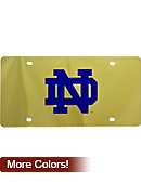 University of Notre Dame License Plate
