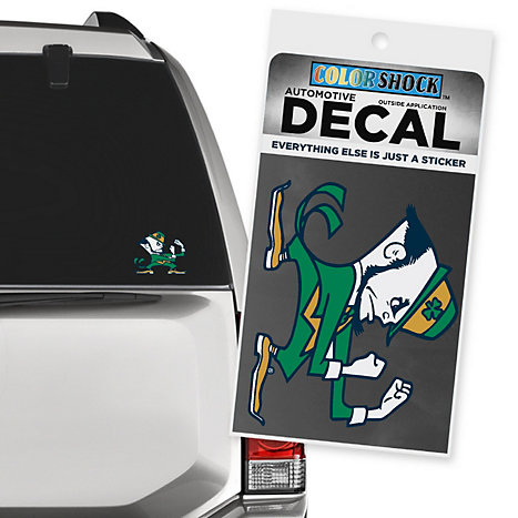 Product: University of Notre Dame Fighting Irish Decal