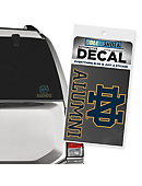 University of Notre Dame Alumni Decal