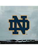 Notre Dame Cling Auto Decal