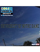 University of Notre Dame Strip Decal