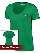 F1633A Football V-Neck Short-Sleeve T-Shirt