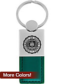 University of Notre Dame Lether Engraved Key Chain