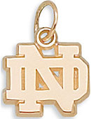 University of Notre Dame Interlocking Charm