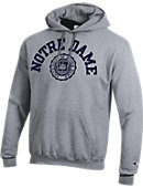F1519C Notre Dame Seal Hooded Sweatshirt
