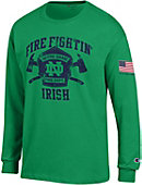 University of Notre Dame Long Sleeve Fire Department T-Shirt