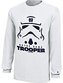 University of Notre Dame Youth Star Wars Storm Trooper Long Sleeve T-Shirt