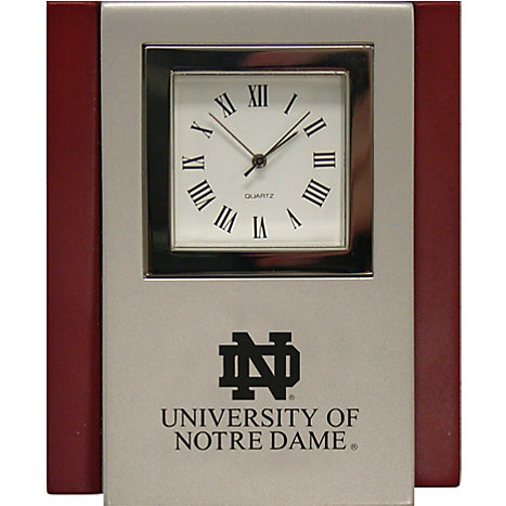 Product: University of Notre Dame Desk Clock
