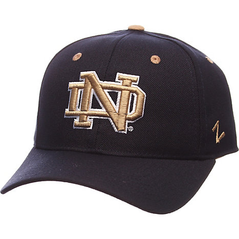 Product: University of Notre Dame Wool Fitted Cap