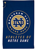 University of Notre Dame Monogram Club Golf Towel