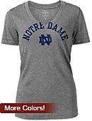 University of Notre Dame Women's V-Neck T-Shirt