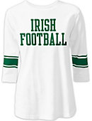 F1638A Throwback 3/4 sleeve Football T-Shirt