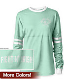 University of Notre Dame Women's Long Sleeve RaRa T-Shirt