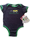 Notre Dame Bound Infant Bodysuit and Bib