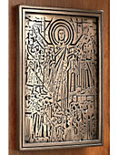 University of Notre Dame Word of Life 8.25'' x 6.25'' Relief