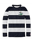 F1539C Navy/White Spirit Long Sleeve Tee