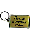 University of Notre Dame 'Play Like A Champion' Keytag