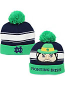 University of Notre Dame Strip Beanie