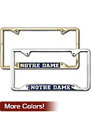 A1530G Simplicity License Plate Frame