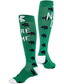 F1435K1 Under Armour® Youth Sock Shamrock Notre Dame